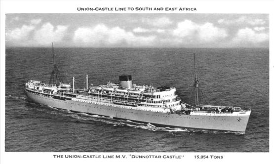 British Armed Forces National Service - 1930s cruise ships